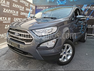 Ford Ecosport Trend usado (2019) color Gris Aluminium precio $260,000