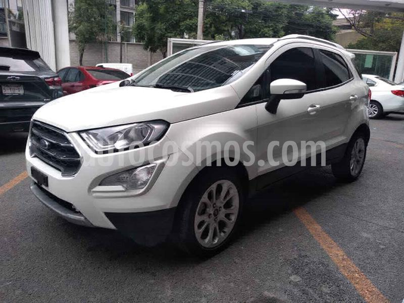 Ford Ecosport Titanium Aut usado (2019) color Blanco precio $285,000