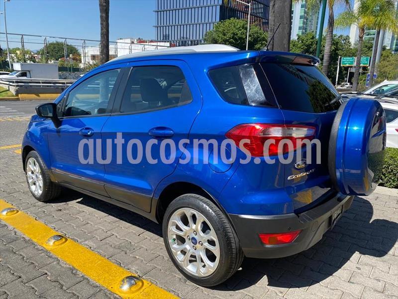 Foto Ford Ecosport Titanium Aut usado (2018) color Azul Electrico precio $298,000