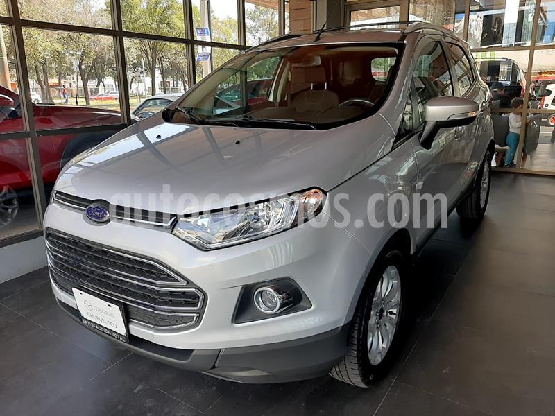 Foto Ford Ecosport Titanium Aut usado (2017) color Plata precio $230,000