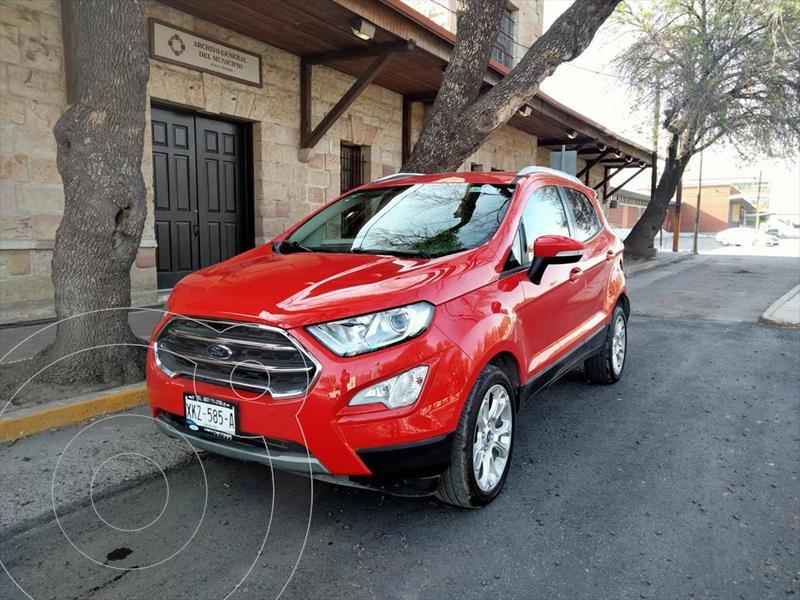 Foto Ford Ecosport Titanium usado (2020) color Rojo precio $335,000