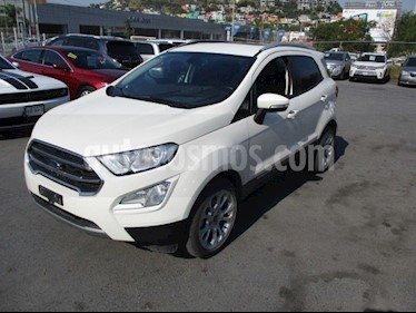 Ford Ecosport Titanium usado (2018) color Blanco precio $294,000