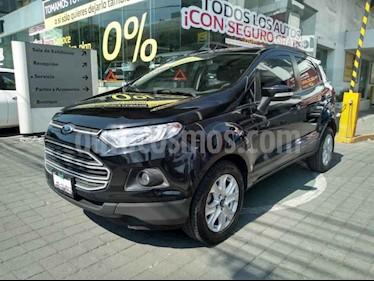 Ford Ecosport Trend Aut usado (2016) color Negro precio $189,000