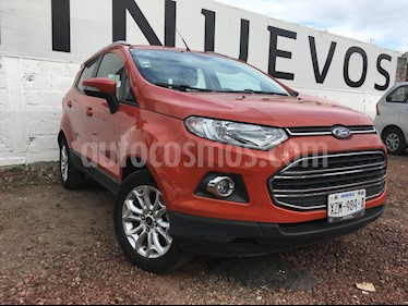 Ford Ecosport Titanium Aut usado (2017) color Naranja precio $225,000