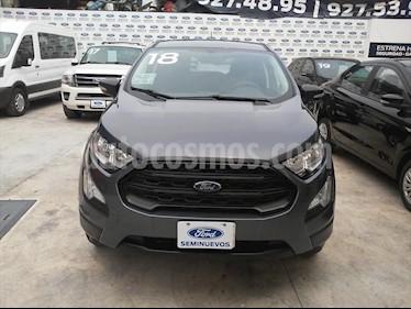 Ford Ecosport IMPULSE MT 1.5L usado (2018) color Gris Oscuro precio $235,000