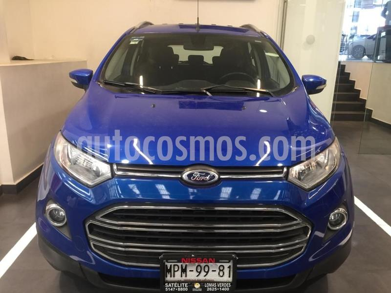 Ford Ecosport Titanium usado (2014) color Azul precio $175,500