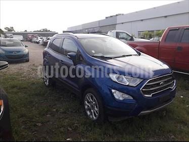 Ford Ecosport Titanium Aut usado (2019) color Azul Relampago precio $300,000