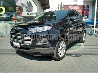 Ford Ecosport Trend Aut usado (2016) color Negro precio $199,000