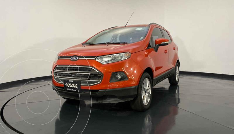 Ford Ecosport Trend Aut usado (2015) color Naranja precio $184,999