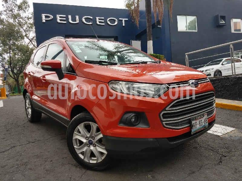 Ford Ecosport Trend Aut usado (2015) color Naranja precio $184,900