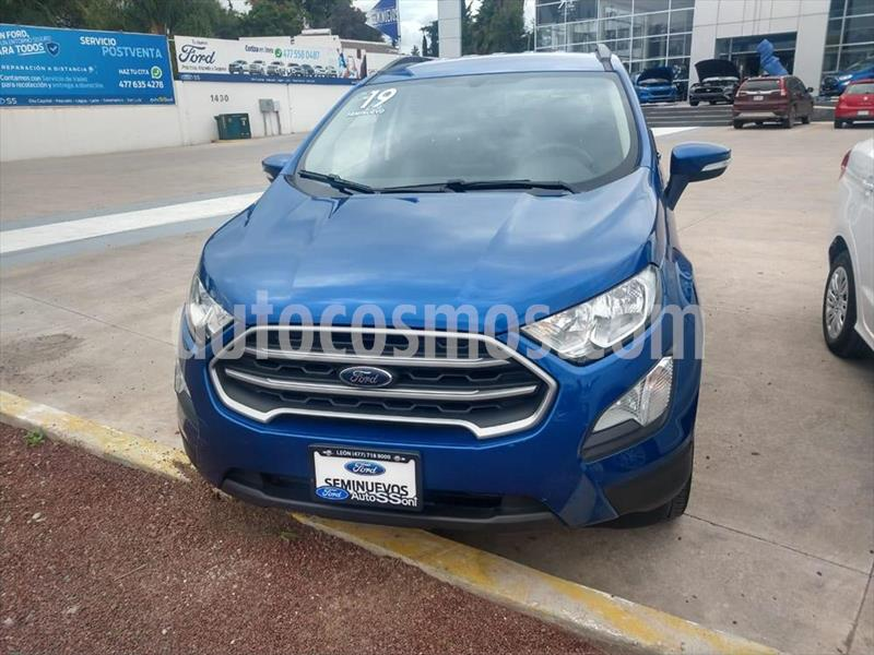 Ford Ecosport Trend usado (2019) color Azul Electrico precio $285,000