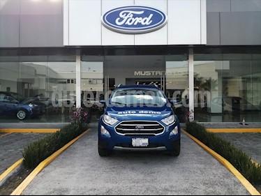 Ford Ecosport Elija una version usado (2020) color Azul Electrico precio $359,900