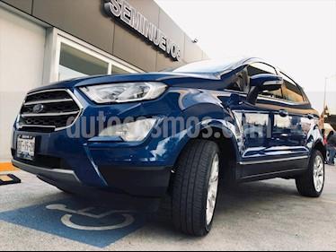 Ford Ecosport TITANIUM TA 2.0L usado (2018) color Azul Electrico precio $295,000