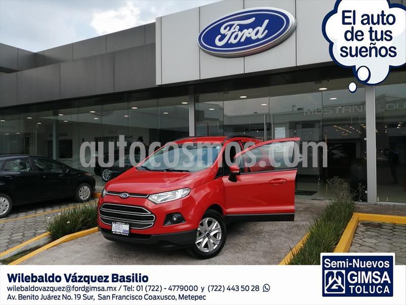 Ford Ecosport TREND AT usado (2015) color Naranja precio $155,000