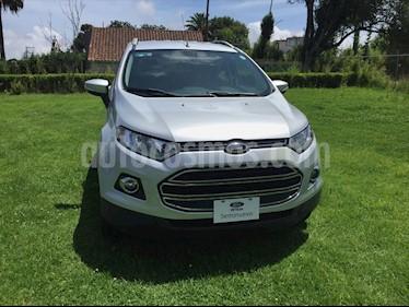 Ford Ecosport TITANIUM AT usado (2016) color Plata precio $199,000