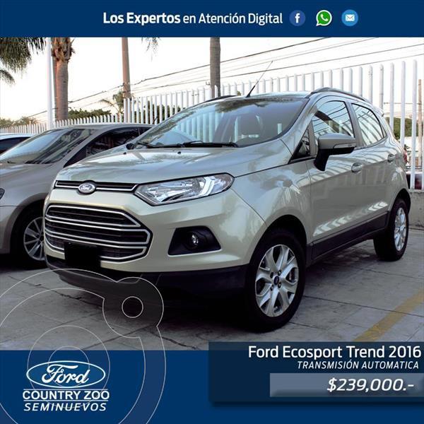 Foto Ford Ecosport Trend usado (2016) precio $239,000
