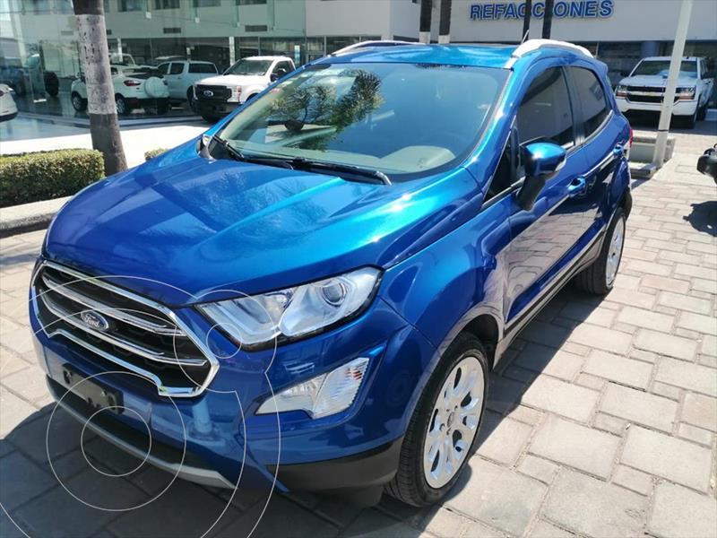 Foto Ford Ecosport TITANIUM TA 2.0L usado (2018) color Azul Electrico precio $285,000