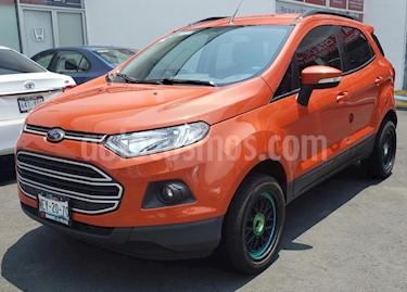 Ford Ecosport Trend usado (2017) color Naranja precio $220,000