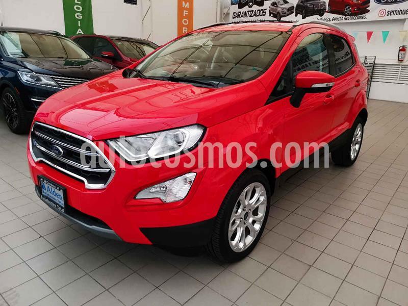 Ford Ecosport Titanium Aut usado (2019) color Rojo precio $349,000
