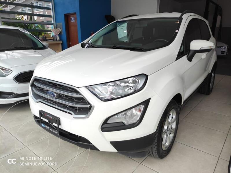 Foto Ford Ecosport TREND TA 2.L usado (2018) color Blanco precio $295,000