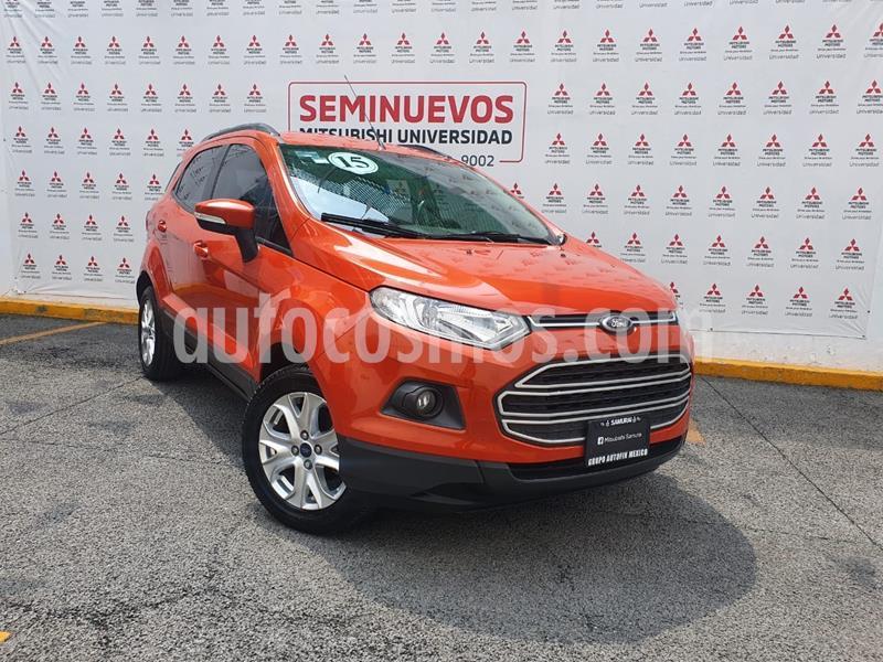 Ford Ecosport Trend Aut usado (2015) color Naranja precio $170,000