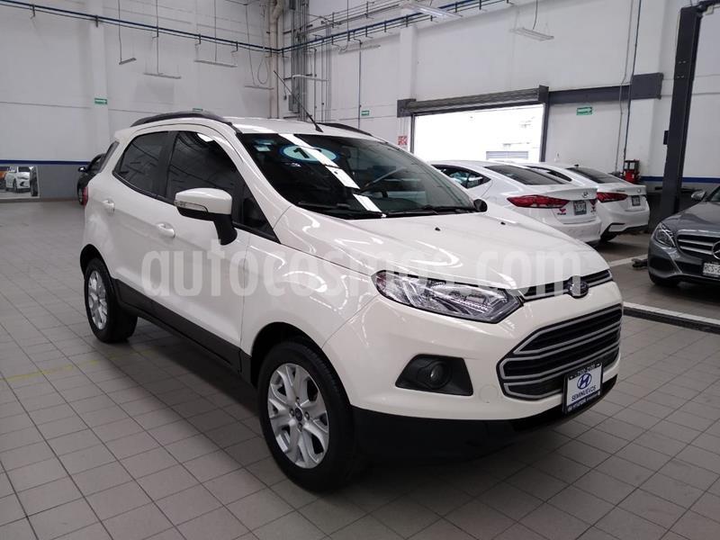 Ford Ecosport Trend Aut usado (2017) color Blanco precio $235,000