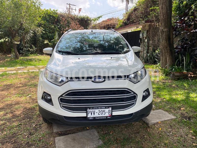 Ford Ecosport Trend Aut usado (2016) color Blanco Diamante precio $195,000