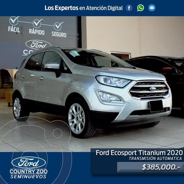 Foto Ford Ecosport Titanium usado (2020) color Plata precio $385,000