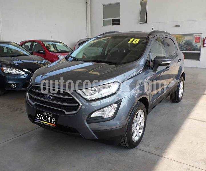 Ford Ecosport Trend Aut usado (2018) color Gris precio $249,000