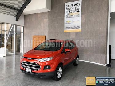 Ford Ecosport Trend Aut usado (2017) color Naranja precio $245,000