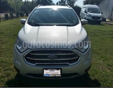 Ford Ecosport Titanium Aut usado (2020) color Gris Mercurio precio $340,000