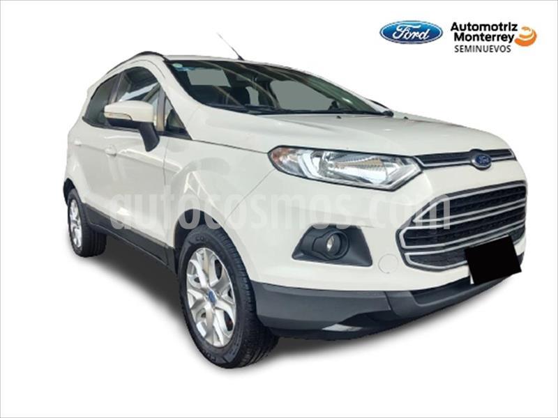 Ford Ecosport TREND MT usado (2015) color Blanco precio $175,900