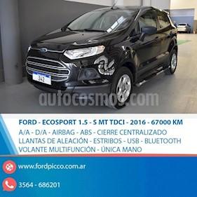 Foto venta Auto usado Ford EcoSport SE 1.5L TDi (2016) color Negro precio $495.000