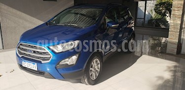 Ford EcoSport SE 1.5L usado (2017) color Azul Electrico precio $800.000
