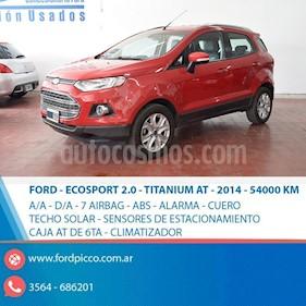 Foto venta Auto usado Ford EcoSport SE 2.0L Aut (2014) color Rojo precio $525.000
