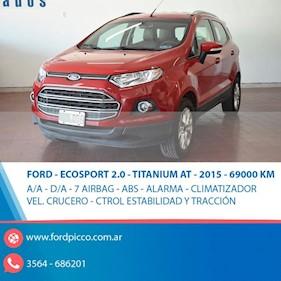 Foto venta Auto usado Ford EcoSport SE 2.0L Aut (2015) color Rojo precio $625.000