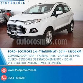 Foto venta Auto usado Ford EcoSport SE 2.0L Aut (2014) color Blanco precio $512.000