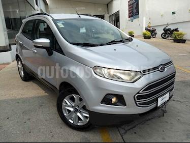 Foto venta Auto usado Ford Ecosport SE (2014) color Plata precio $180,000