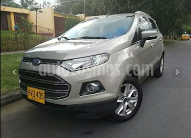 Foto venta Carro usado Ford Ecosport Titanium Aut  (2014) color Beige Rivera precio $43.400.000
