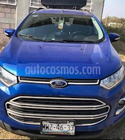 Ford Ecosport Titanium Aut usado (2015) color Azul Dinamico precio $185,000