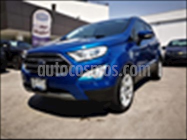 Foto Ford Ecosport TITANIUM TA 2.0L usado (2018) color Azul Electrico precio $329,000
