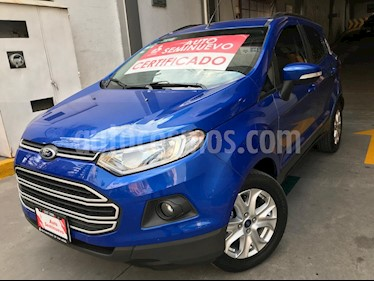 Foto venta Auto Seminuevo Ford Ecosport Trend Aut (2015) color Azul Dinamico precio $203,000
