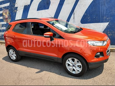 Ford Ecosport Trend Aut usado (2016) color Naranja precio $200,000