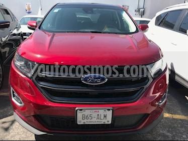 Foto venta Auto Seminuevo Ford Edge 5 PTS. SPORT, V6, TA, PIEL, QC, DVD, ALERON (2016) color Rojo Vino precio $464,500
