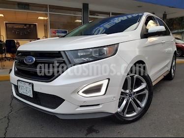 Foto venta Auto Seminuevo Ford Edge 5 PTS. SPORT, V6, TA, PIEL, QC, DVD, ALERON (2017) color Blanco precio $600,000