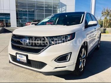 Foto venta Auto usado Ford Edge 5 PTS. SPORT, V6, TA, PIEL, QC, DVD, SPOILER (2017) color Blanco precio $515,000