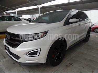 Foto venta Auto usado Ford Edge 5 PTS. SPORT, V6, TA, PIEL, QC, DVD, SPOILER (2017) color Blanco precio $530,000