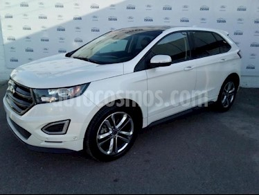 Foto venta Auto usado Ford Edge 5p Sport V6/3.5 Aut (2016) color Blanco precio $450,000