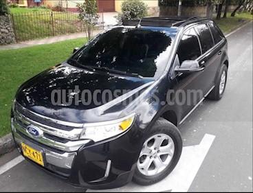 Ford Edge Limited 3.5L Aut  usado (2013) color Negro precio $52.400.000
