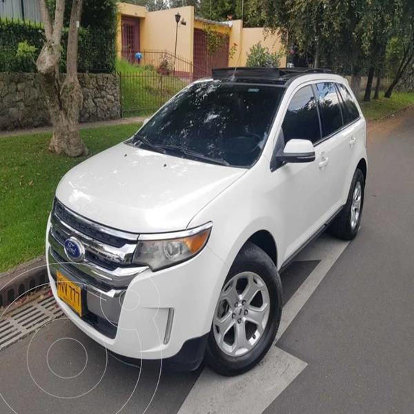 Ford Edge Limited 3.5L Aut  usado (2014) color Blanco precio $62.500.000